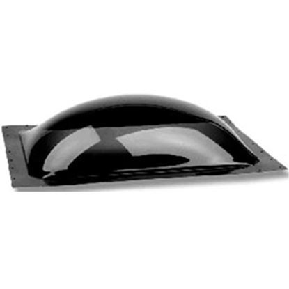 """Picture of Specialty Recreation  3.5""""H Bubble Dome Square Smoke Black Polycarbonate Skylight SL1414S 94-4999"""