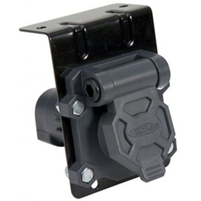 Picture of Hopkins  6-Pole Round Car End Trailer Connector 48420 94-8426