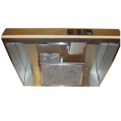 """Picture of Heng's  20""""W Black Ductless Range Hood R045A3800-C1 95-3550"""