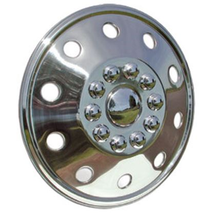 "Picture of Wheel Masters  Single 19-1/2"" 10-Lug Wheel Cover  98-1132"